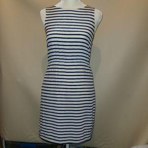 J.Crew Striped Sleeveless short Dress size 0
